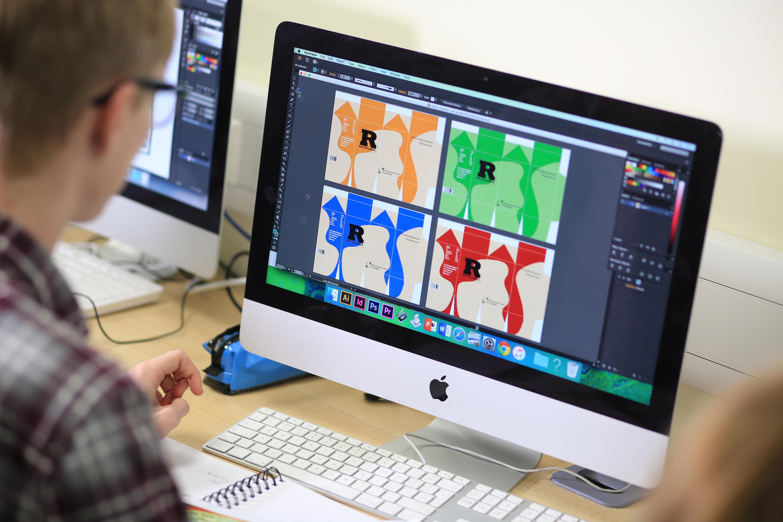 Graphic Design at Boston College